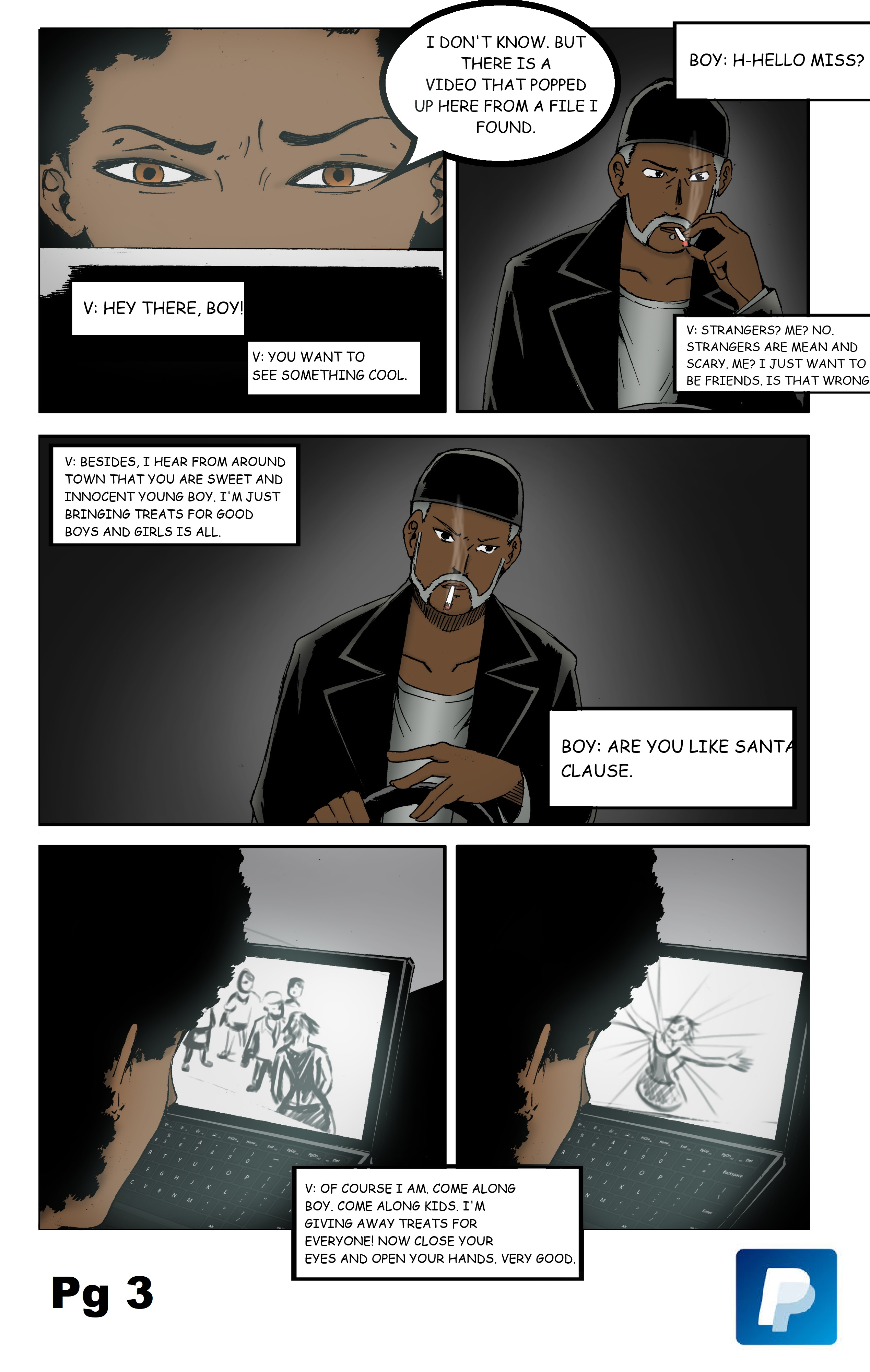 PAGE THREE: The Adventure Begins Iss. #3 Vol. #1