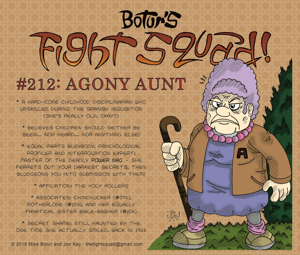 Character profile: Agony Aunt