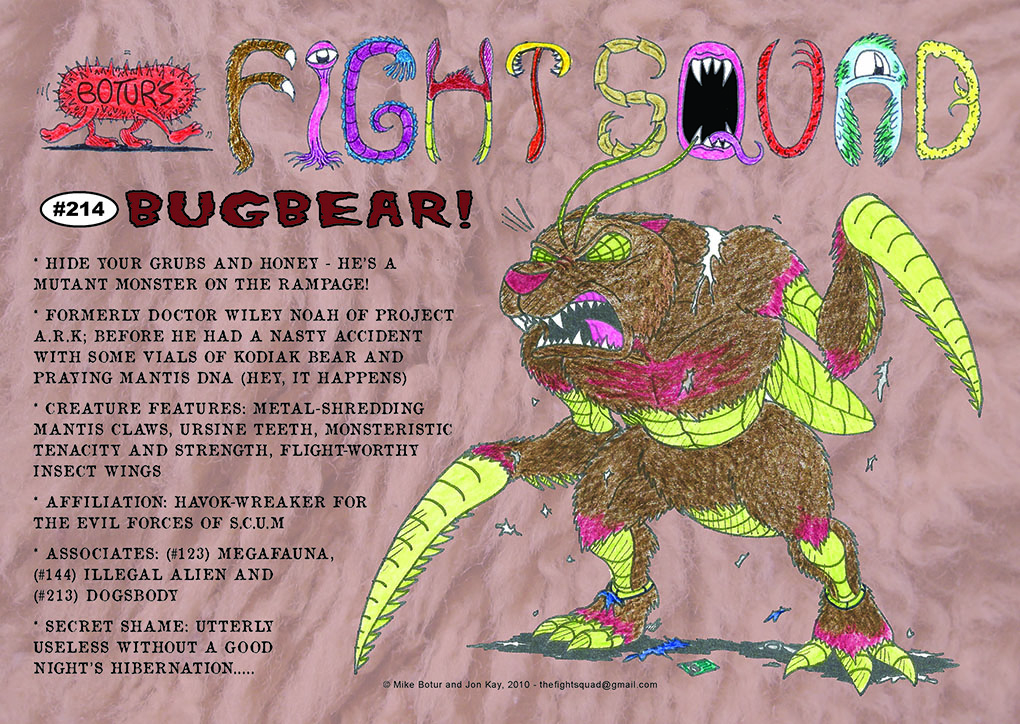 Character profile: BugBear!