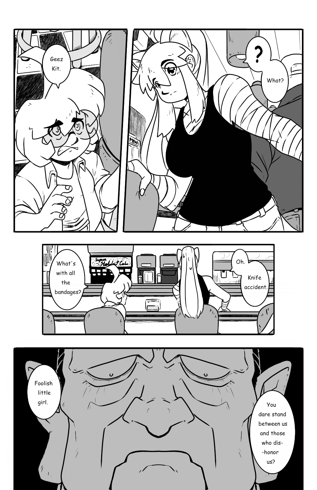 Dodges and Half Truths pg.3