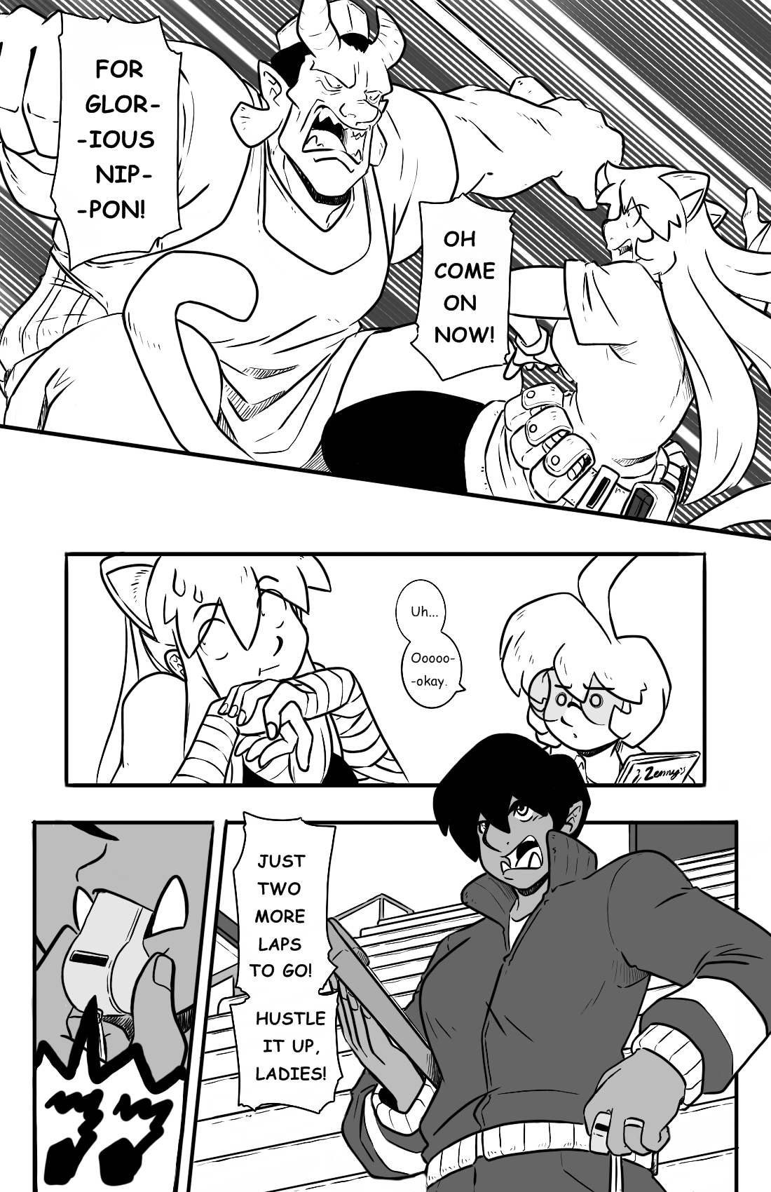 Dodges and Half Truths pg.5