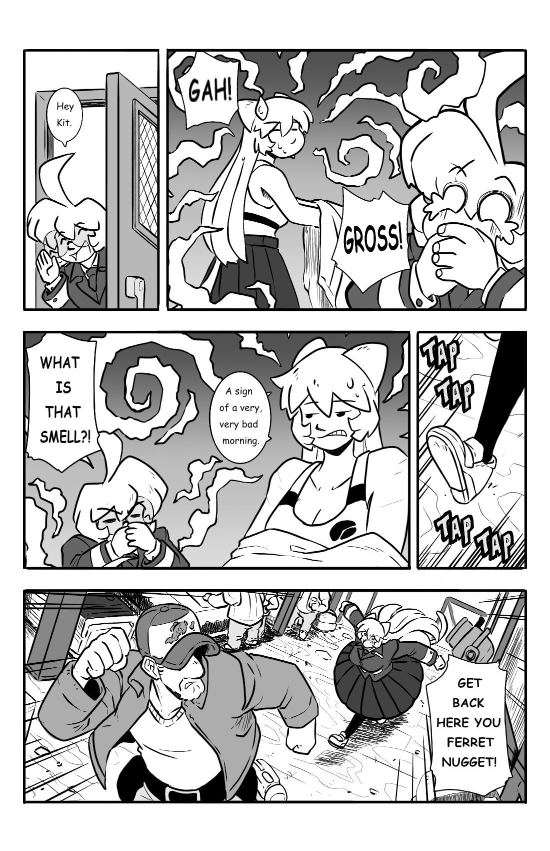 Dodges and Half Truths pg.7
