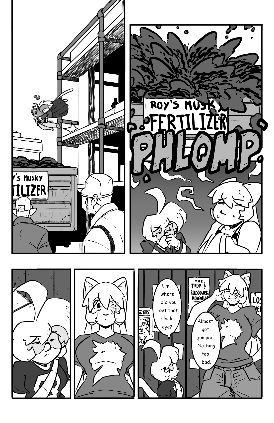 Dodges and Half Truths pg.8