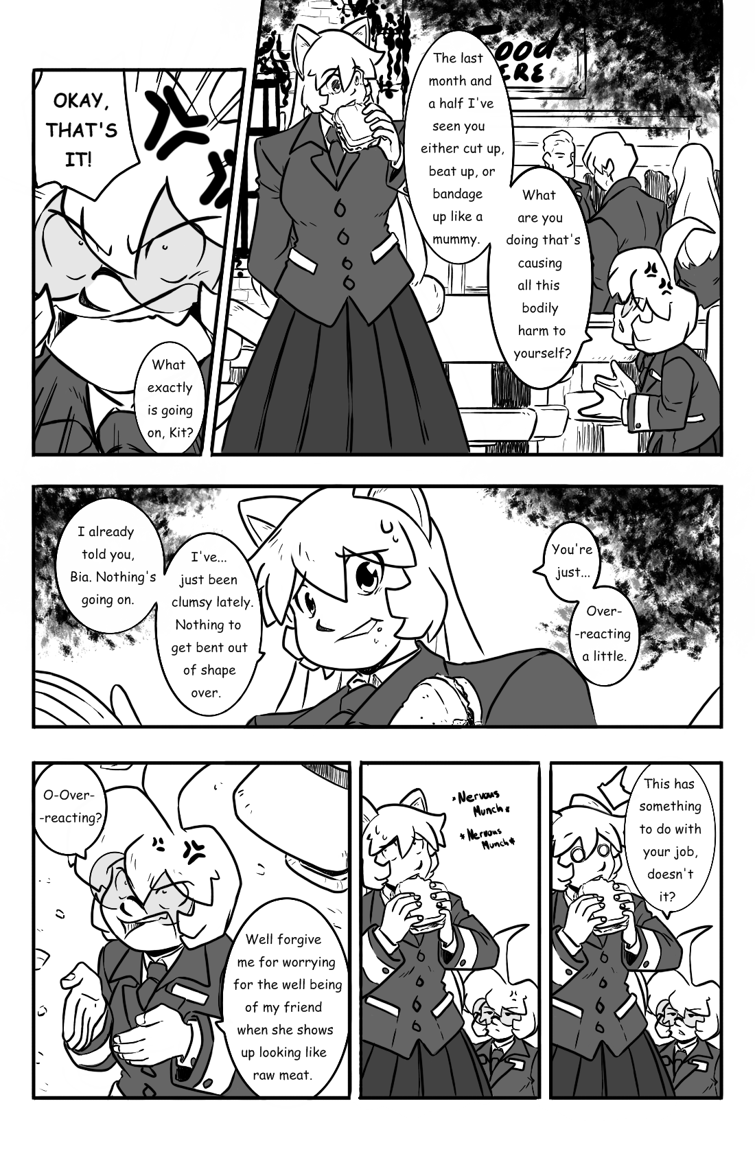 Dodges and Half Truths pg.13