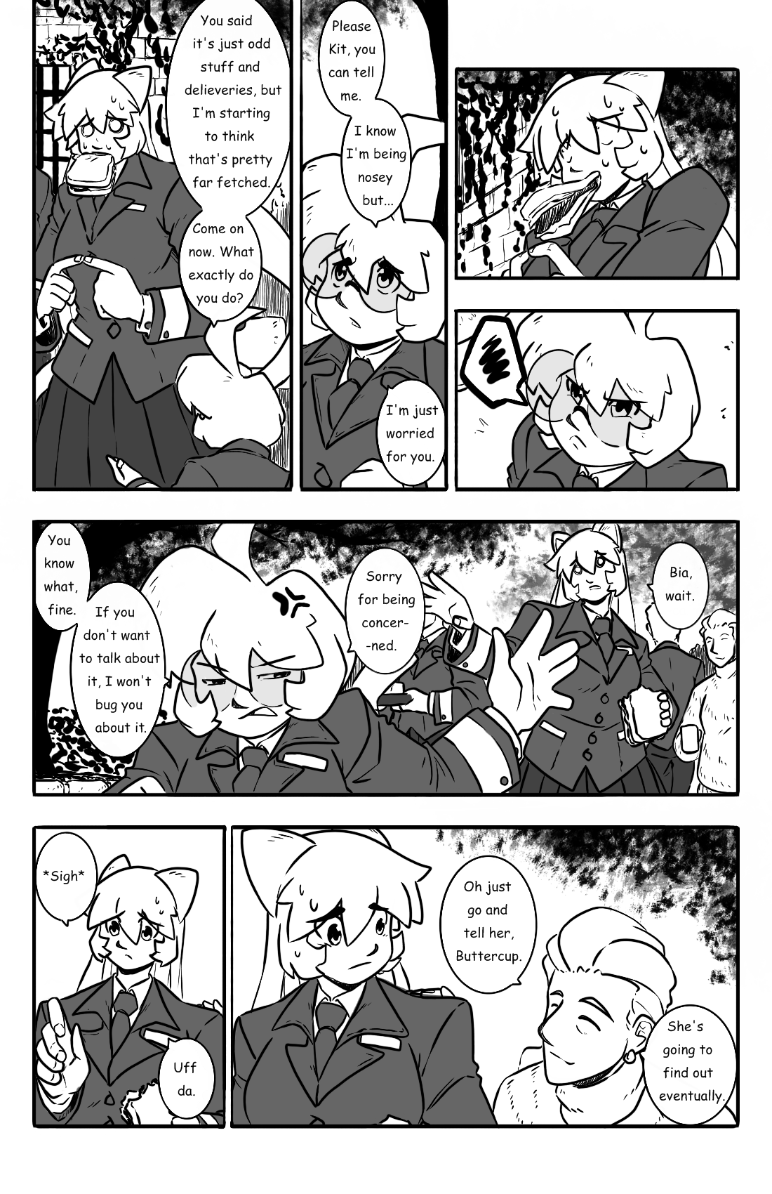 Dodges and Half Truths pg.14