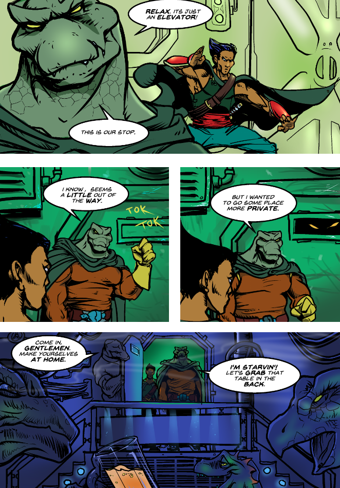 Prince of the Astral Kingdom chapter 2 pg 23