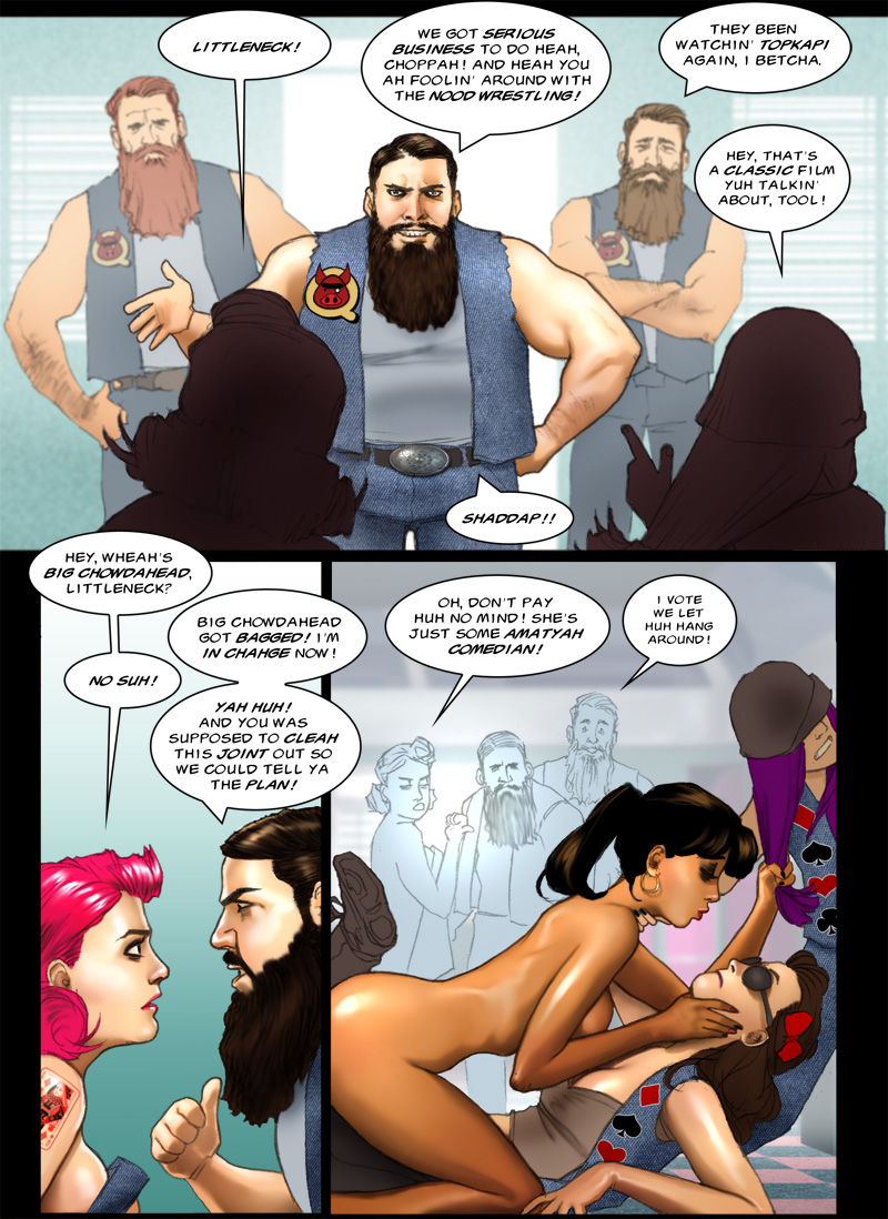 Twilight of the Cods page 8