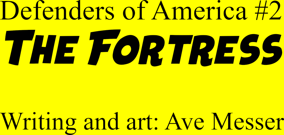Inside cover: issue 2 - The Fortress