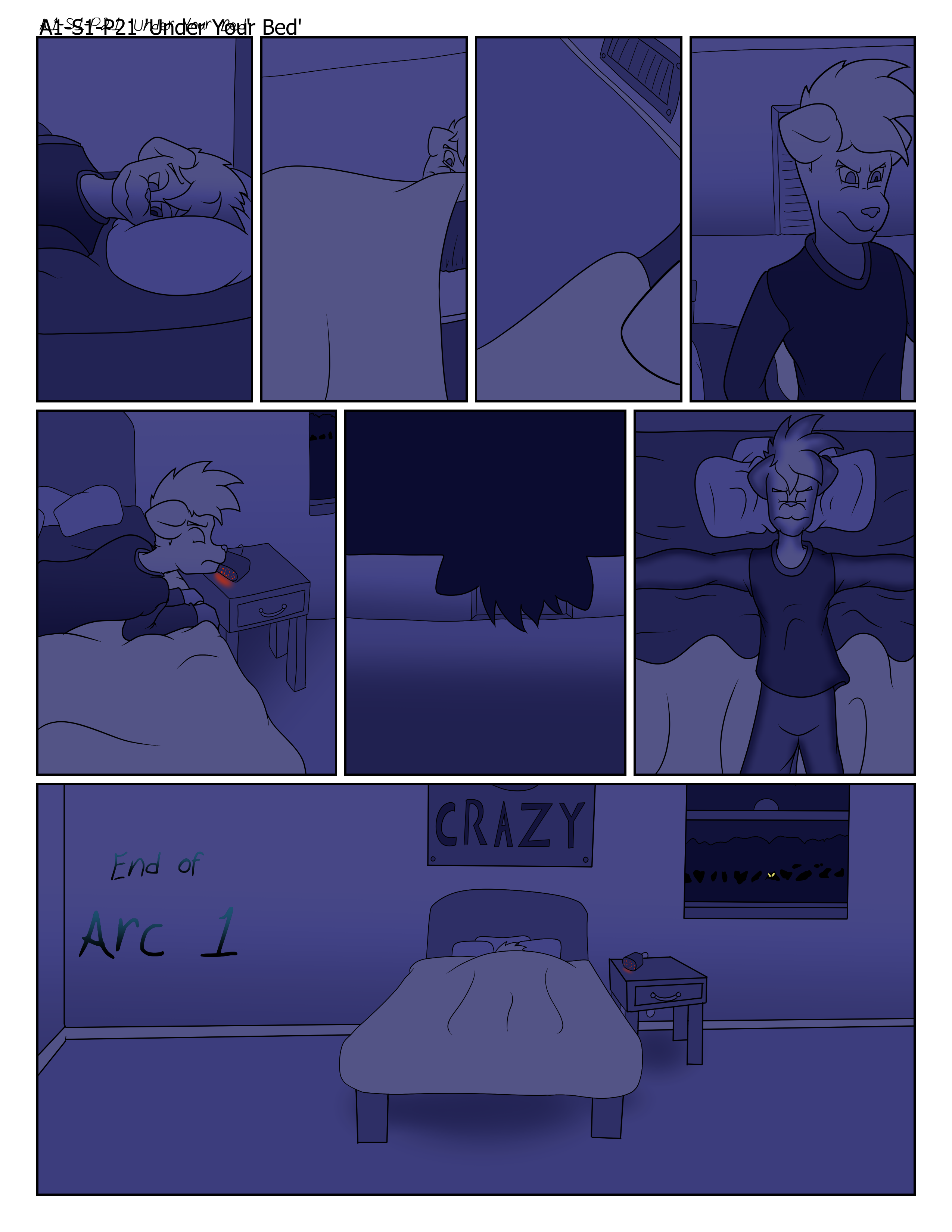 A1-s1-p21 'under Your Bed'