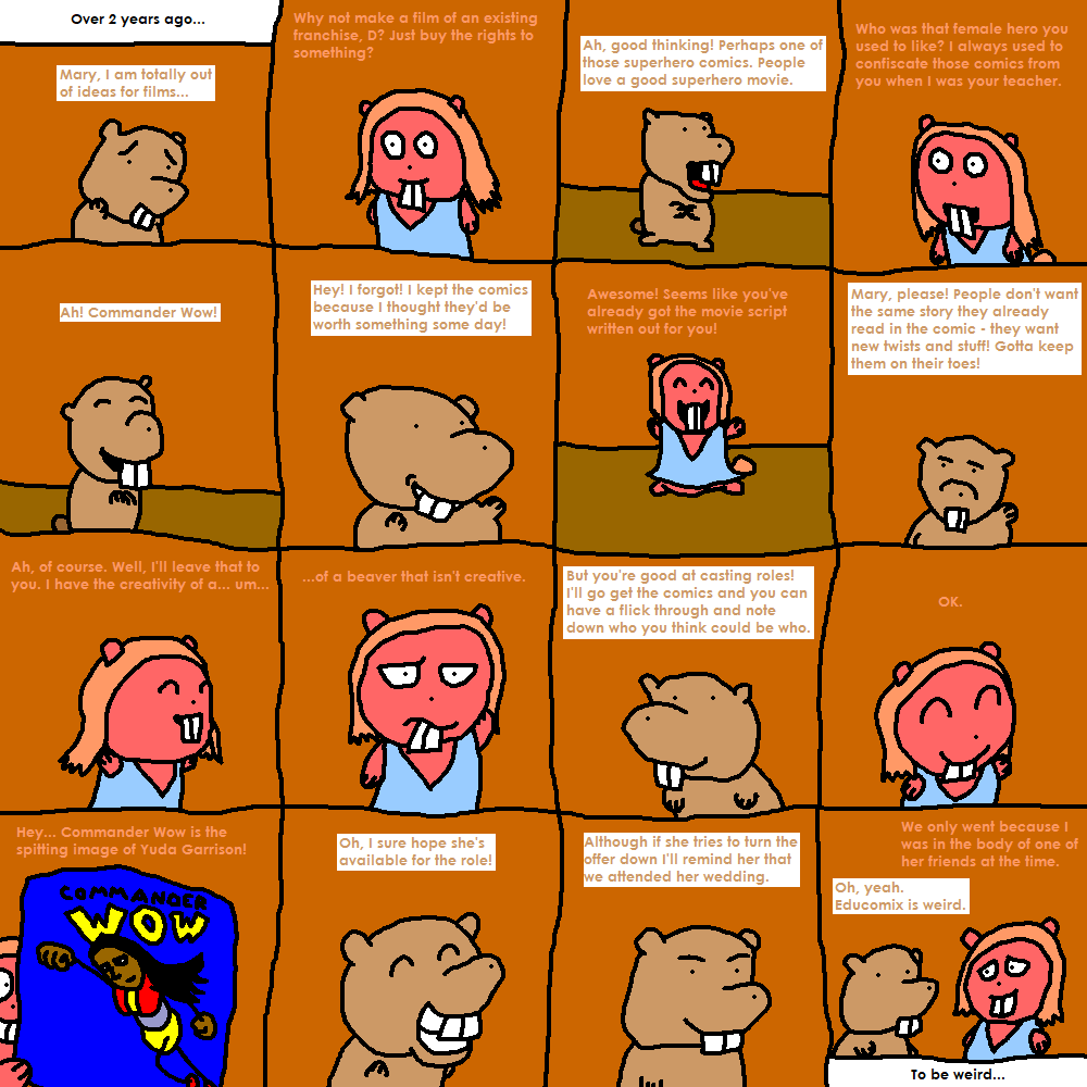 D. Comics