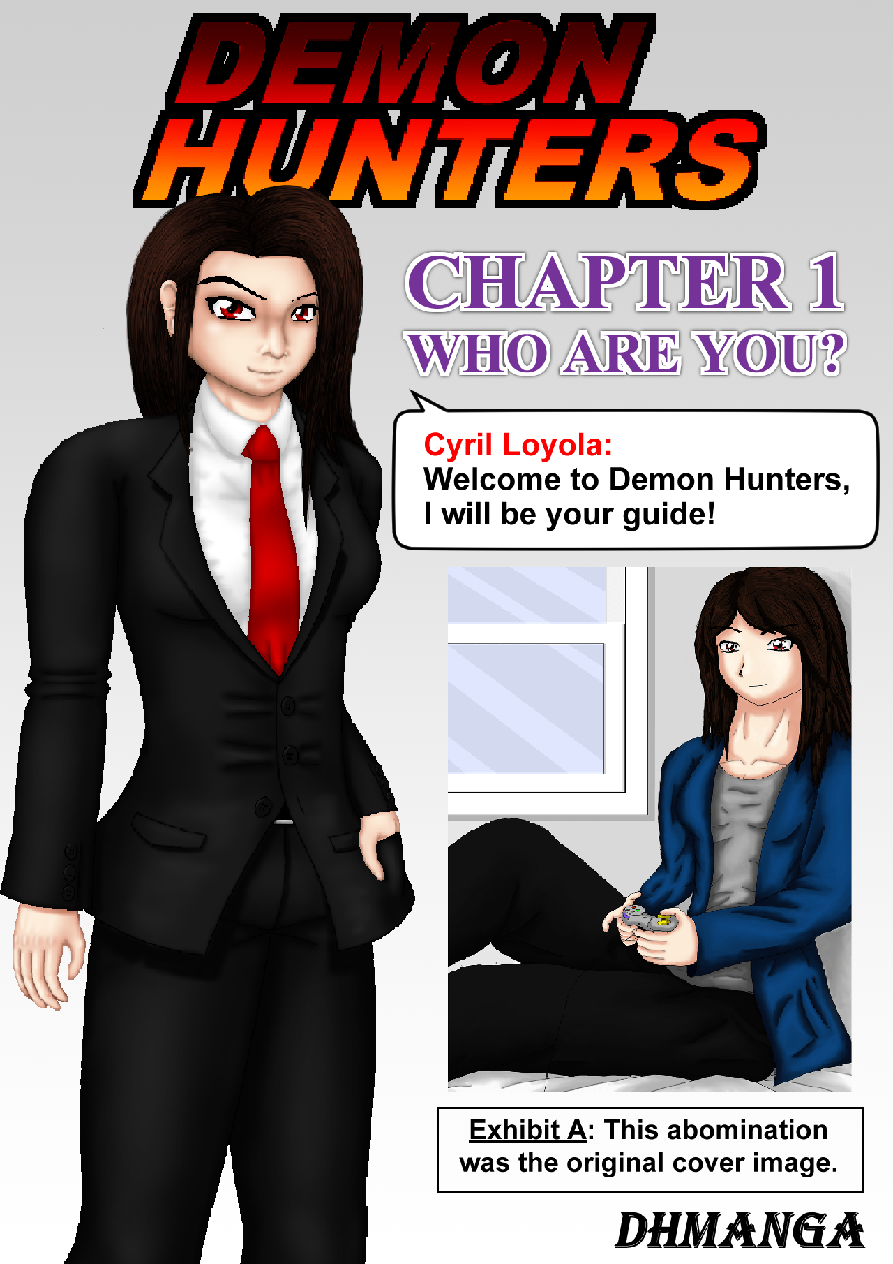 Demon Hunters Chapter 1 page 0