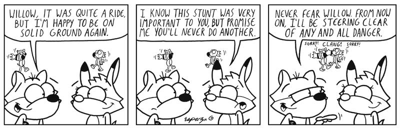 STUNT FOX!!!  PT. 17 (BF #633)