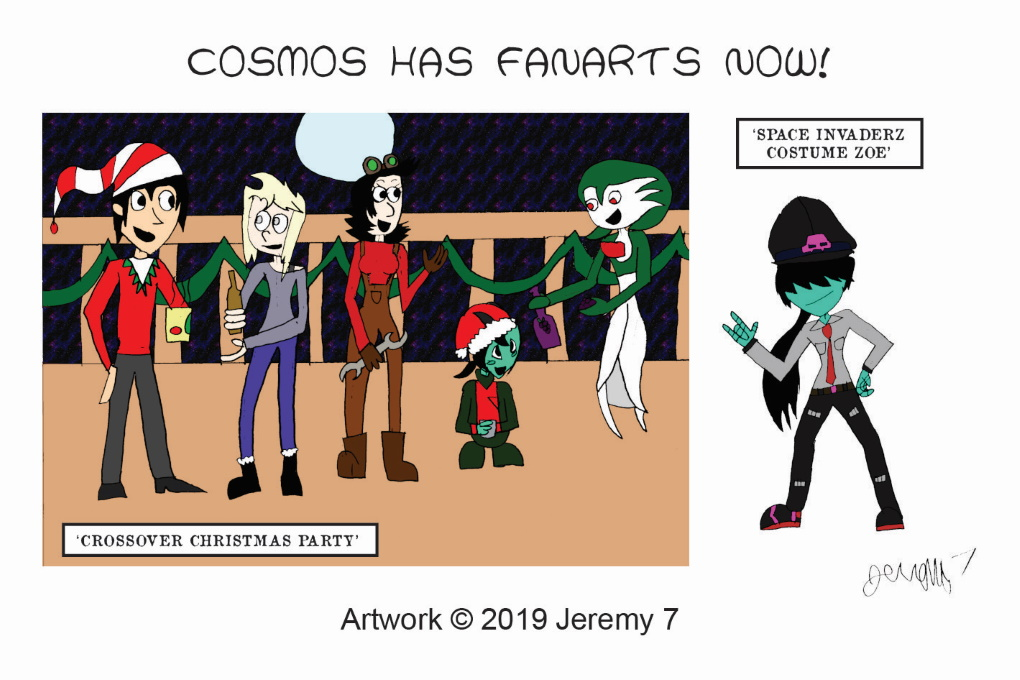 Cosmos FanArts! (Guest material by Jeremy 7)