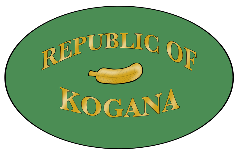 Flag and Seal of the Republic of Kogana
