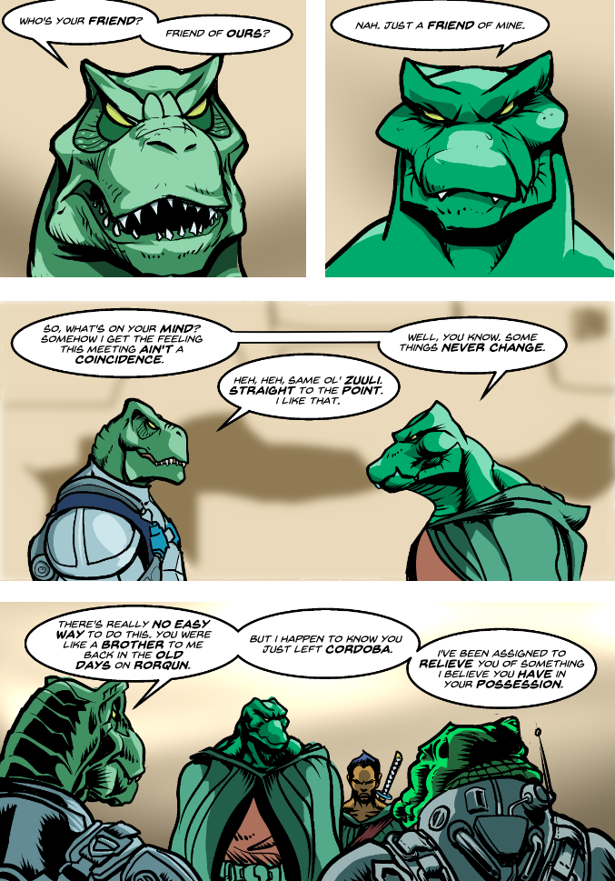 Prince of the Astral Kingdom chapter 2 pg 28