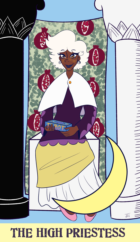 Tarot Card: The High Priestess