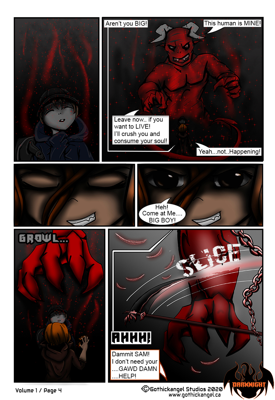 Darknight Manga Page 4 - Possessing Demon