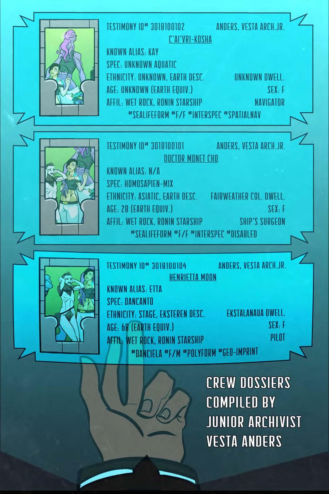 CREW DOSSIERS #1