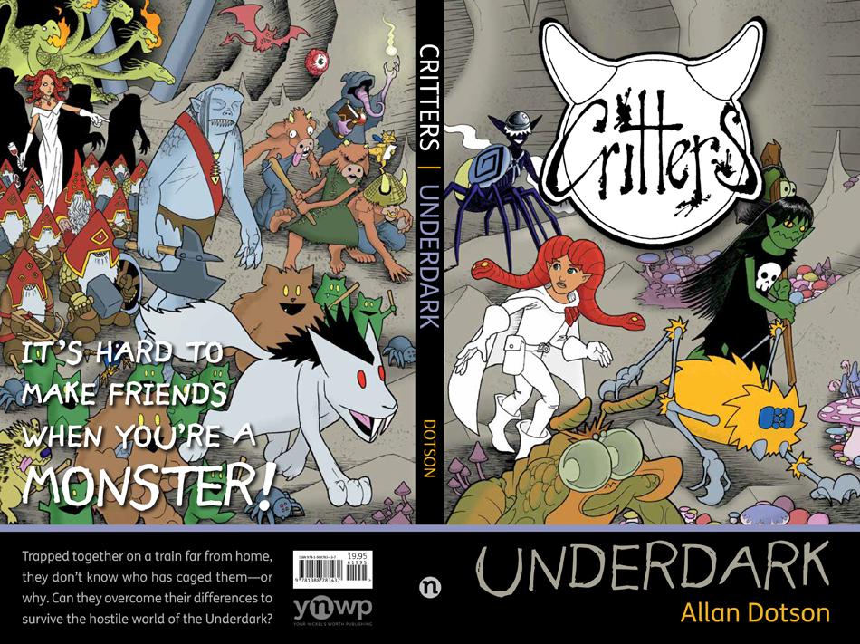 Critters: Underdark is in print!