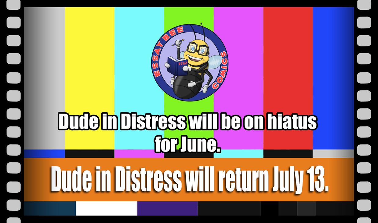 Hiatus for June