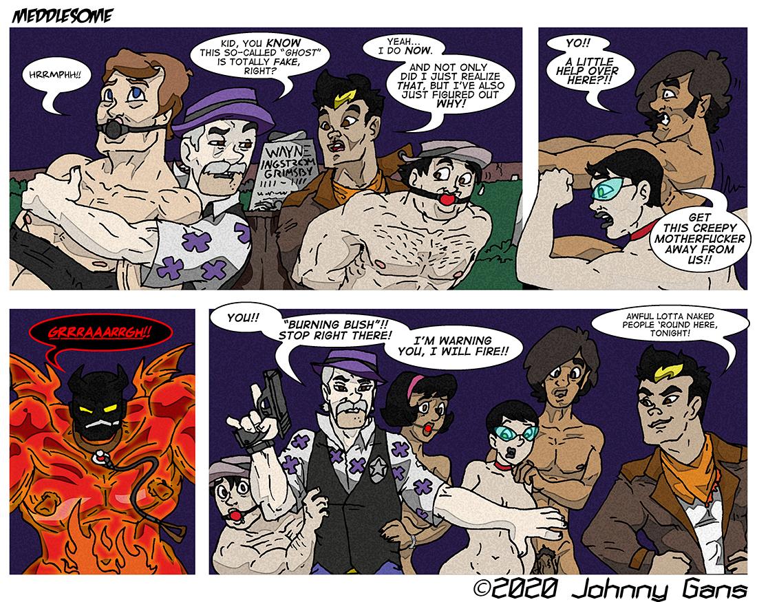 Meddlesome: The Firecrotch Phantom 032