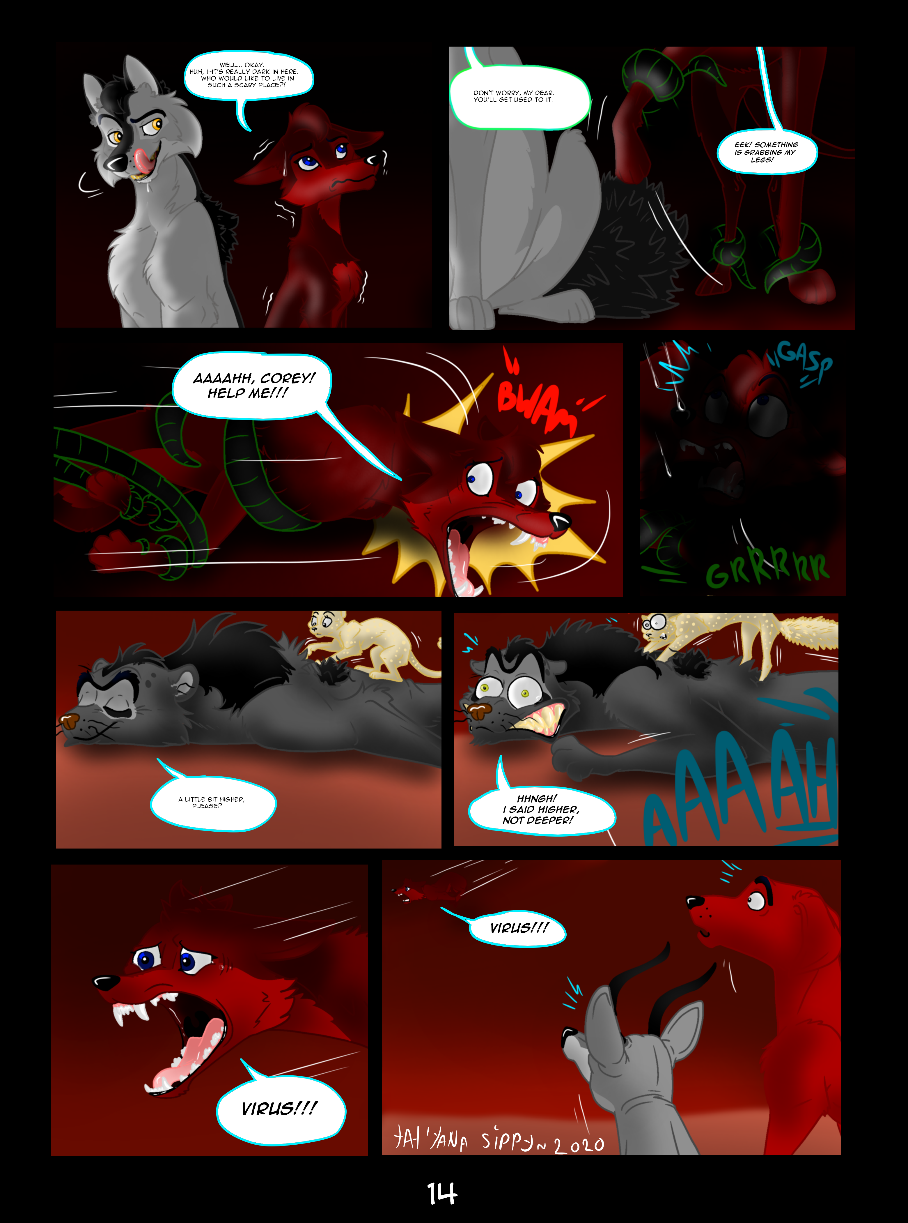 Virus Attack-page 14