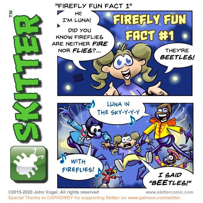 Firefly Fun Fact #1