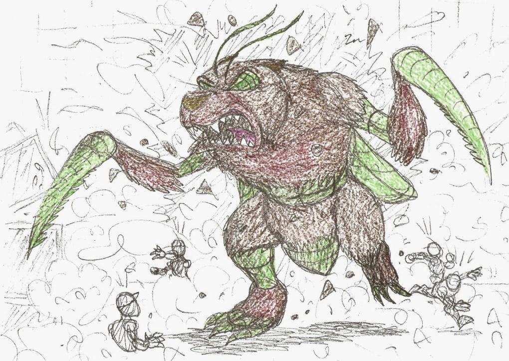 Concept art: BugBear, part 2