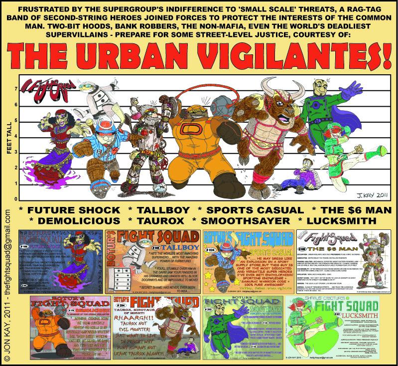 Discount Avengers Assemble.... it's The urban Vigilantes!