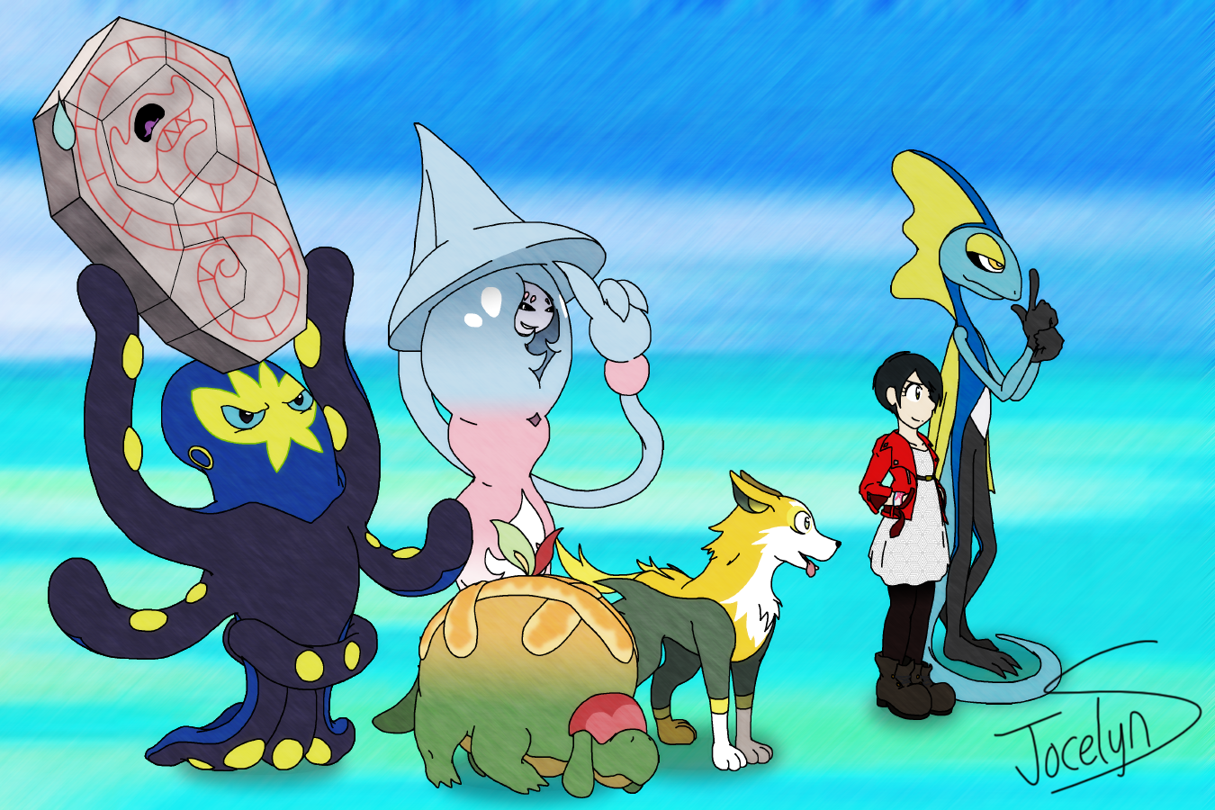 Seemingly random Pokemon Shield Team