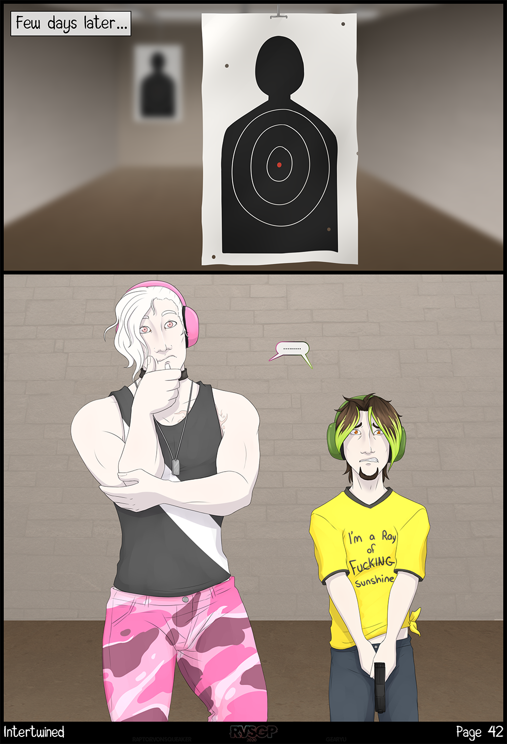 Page 42 - Bad aim.