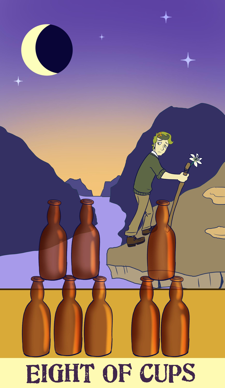 Tarot Card: Eight of Cups