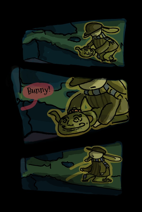 Hiding the Teapot