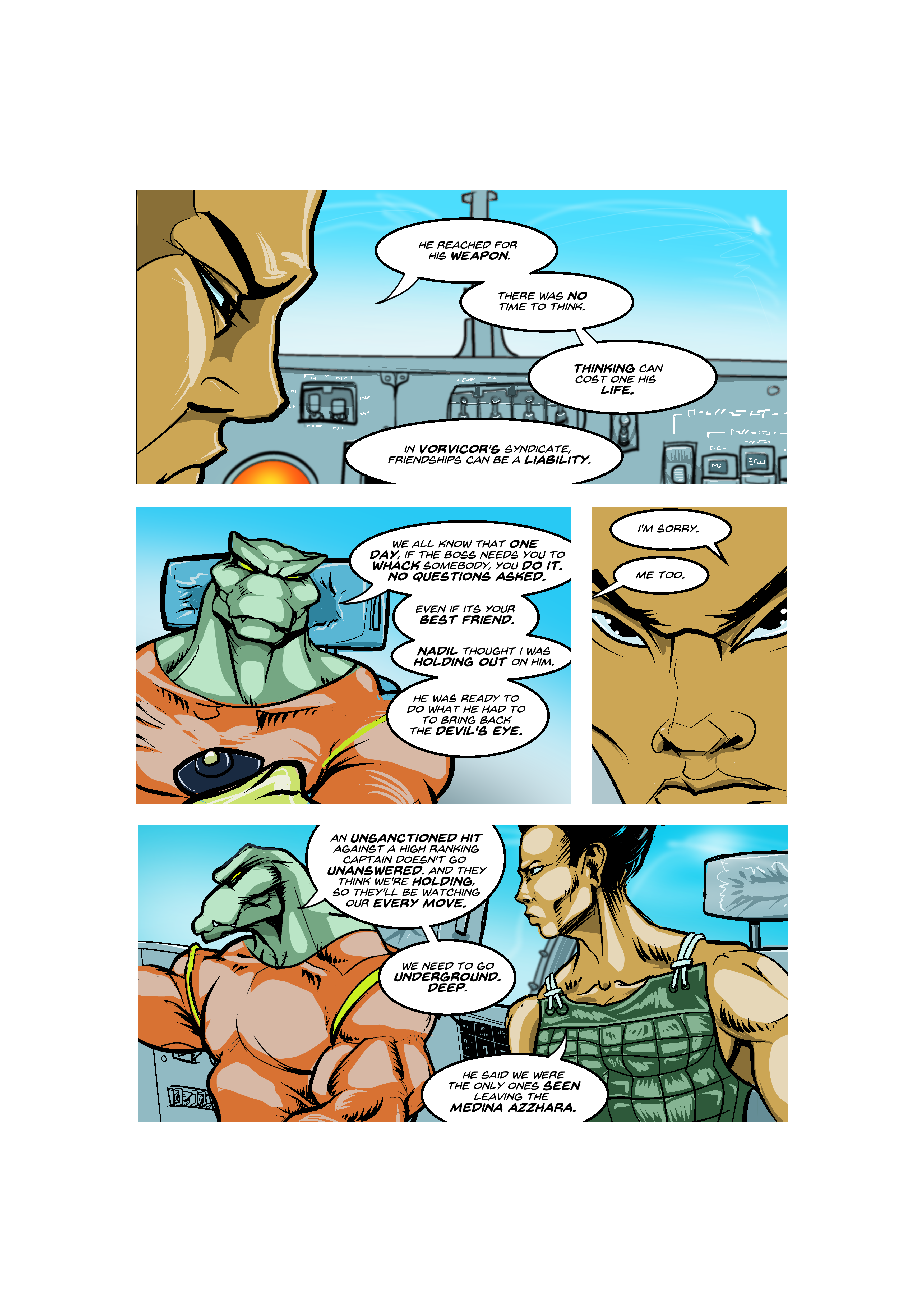 Prince of the Astral Kingdom chapter 2 pg 35