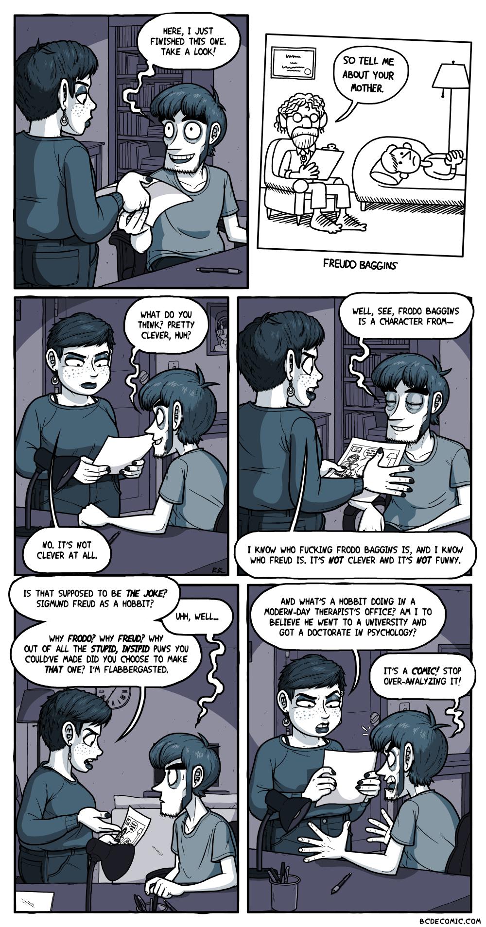 On Making Comics, Pt. 2