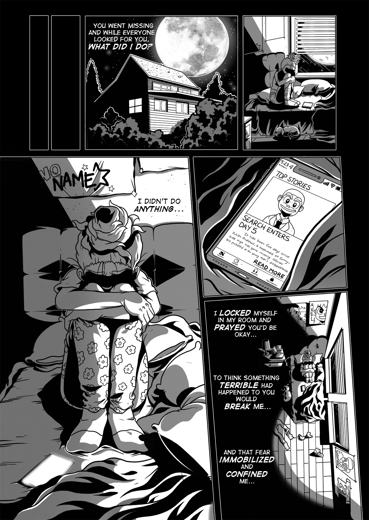 Chapter 3 Into the Eyes of A Demon PG 15