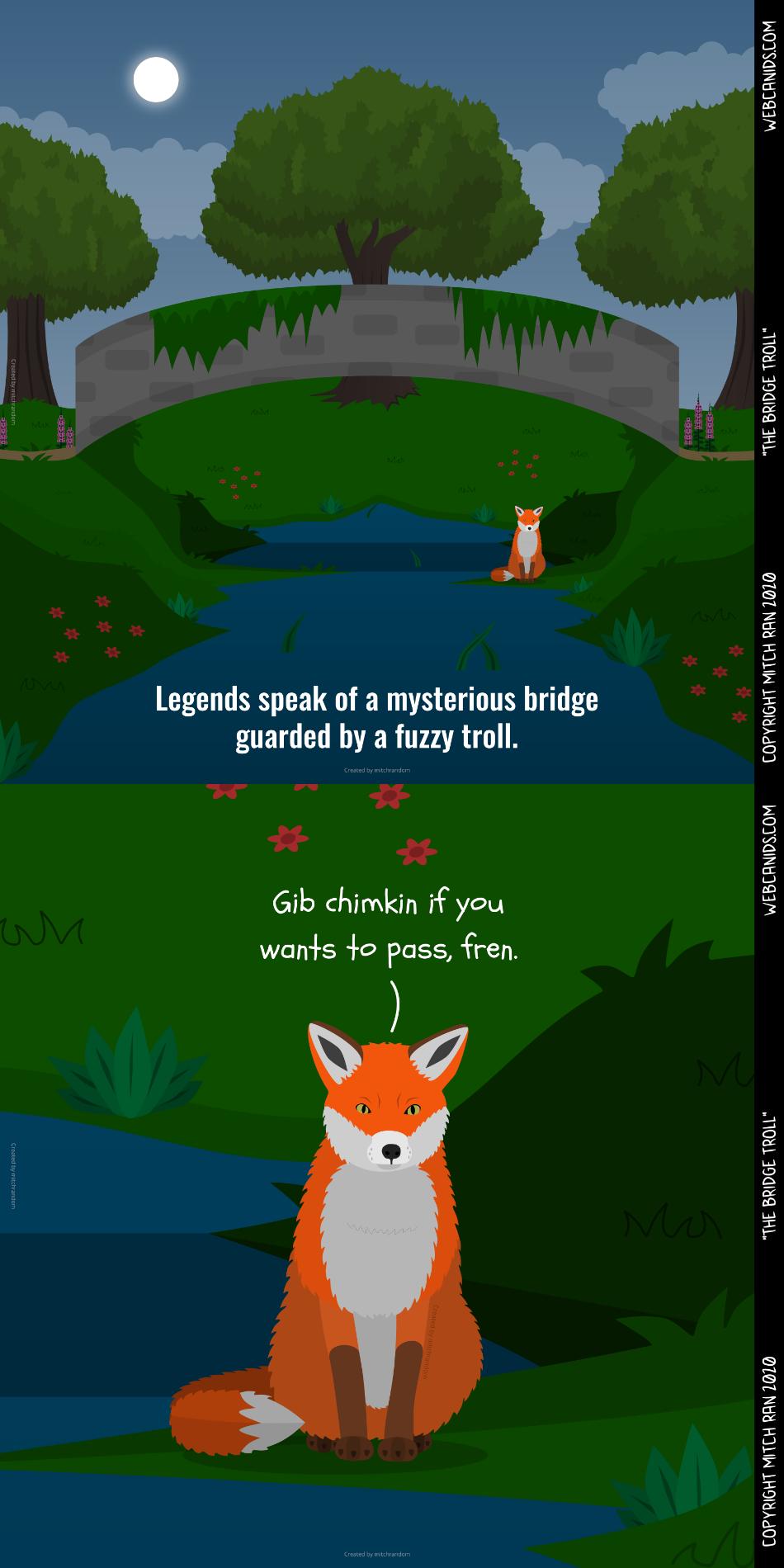 The Bridge Troll