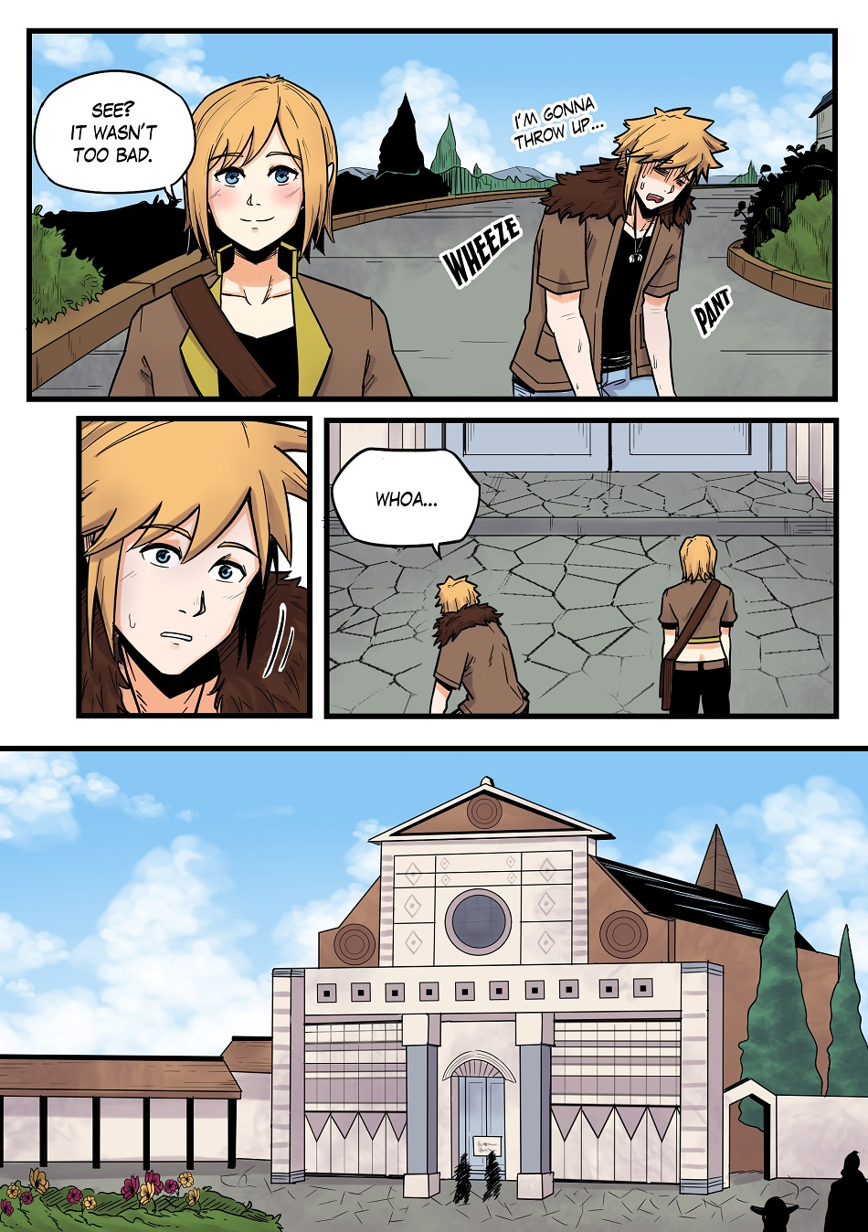 DAWN: Chapter 2 Pages 1-4 - Familiar Faces