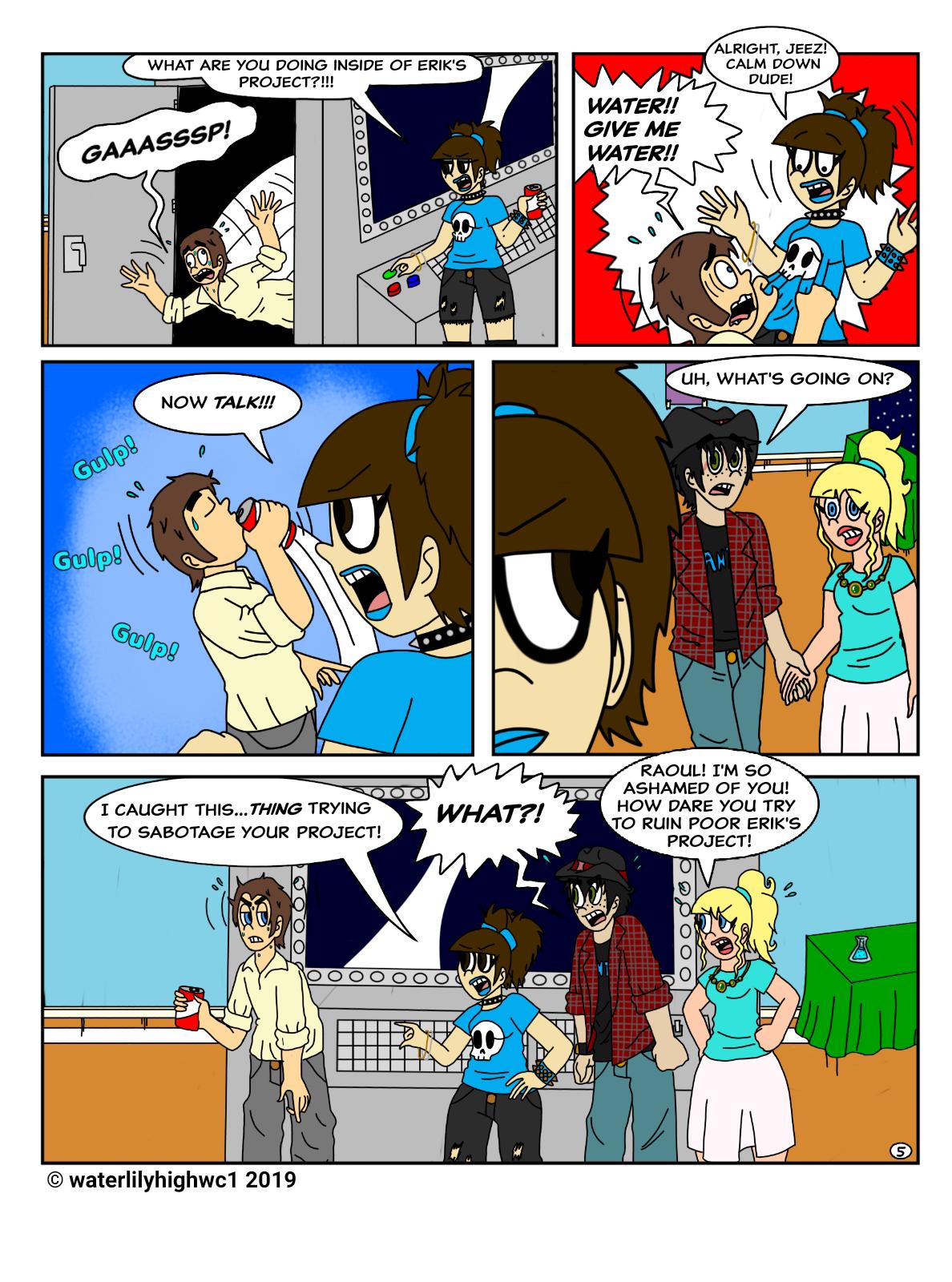 Science Un-fair pg 5