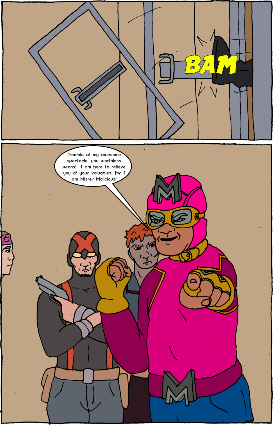 Page 10: issue 16 - Aggravations