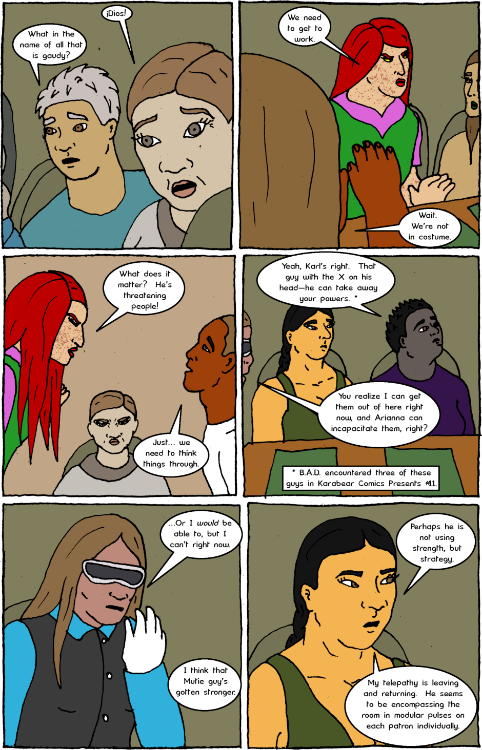 Page 11: issue 16 - Aggravations