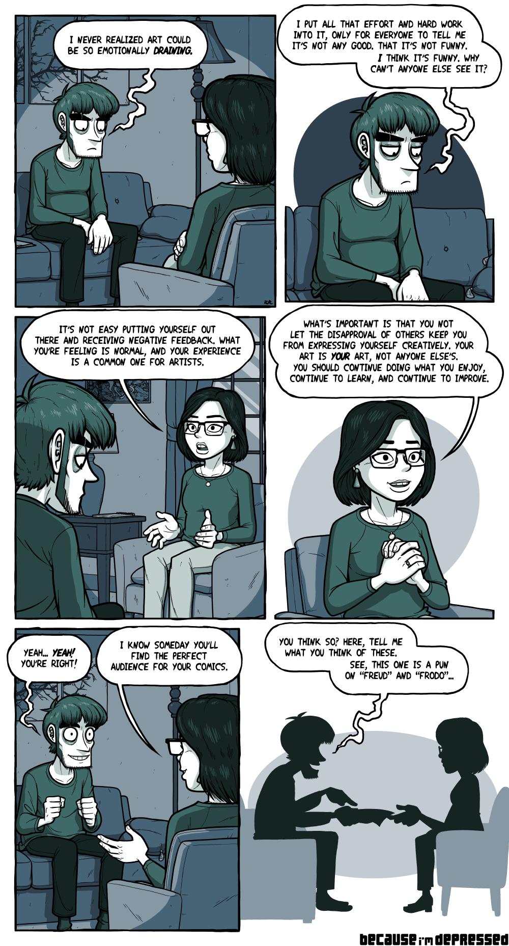 On Making Comics, Pt. 5