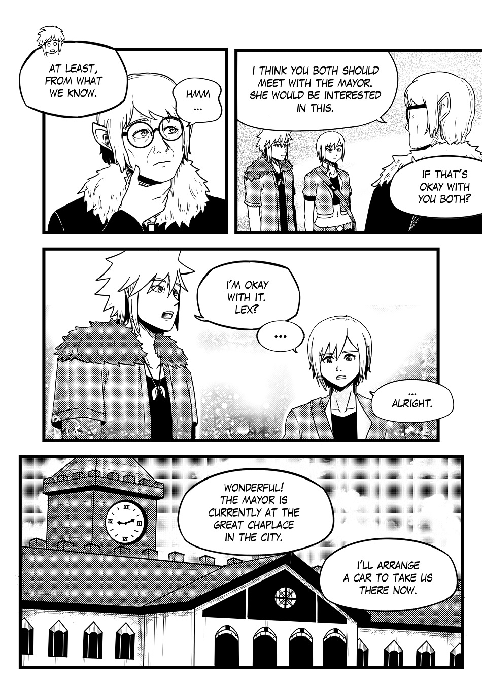 DAWN: Chapter 2 Pages 14-17