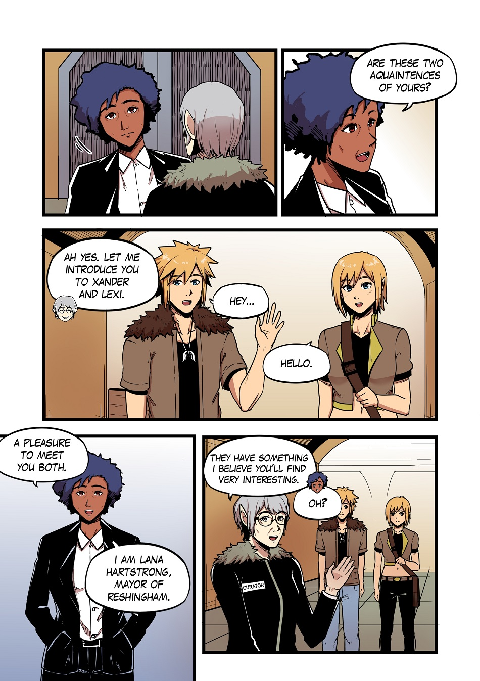 DAWN: Chapter 2 Pages 22-25