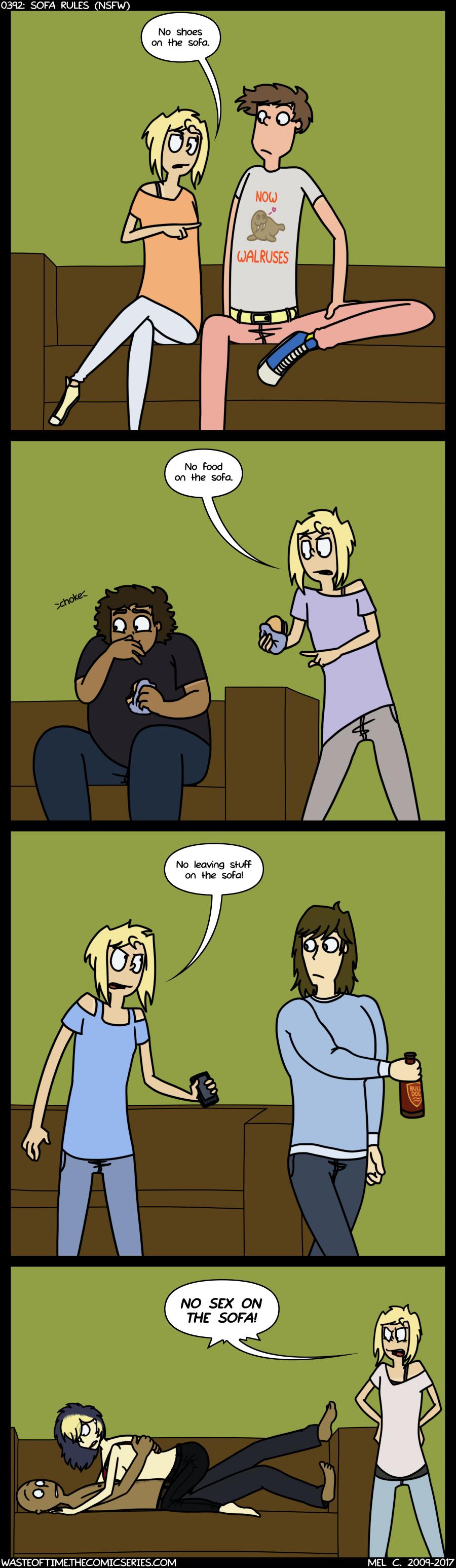 0392: Sofa Rules (NSFW)