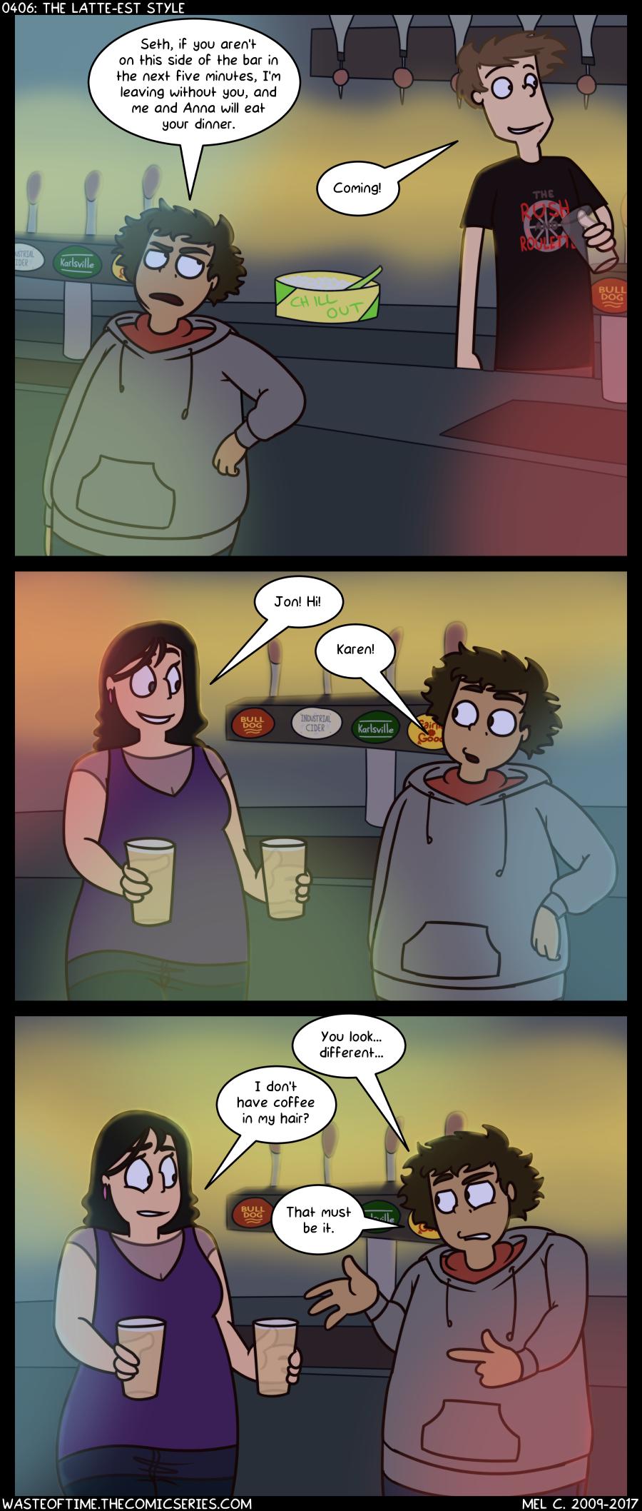 0406: The Latte-est Style