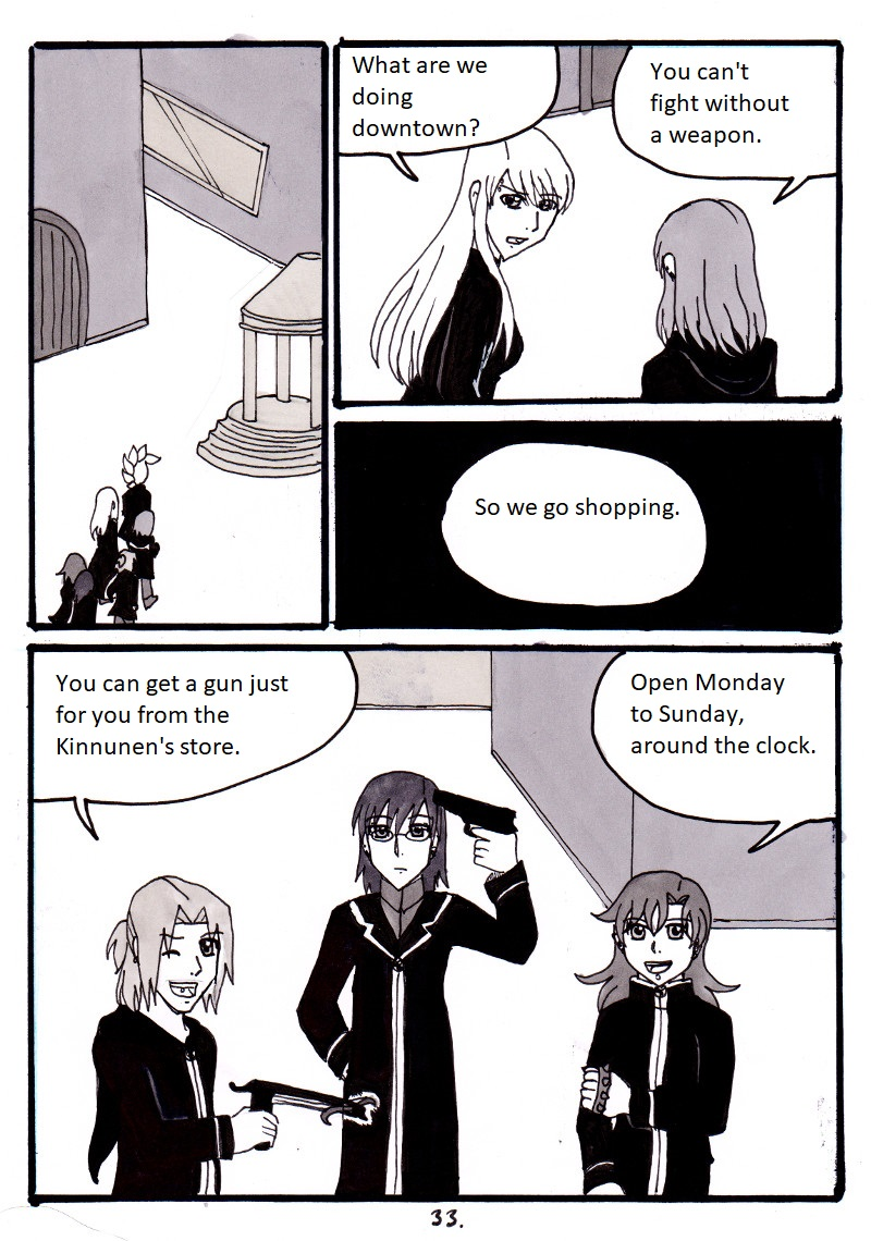 In the Shadows - page 33