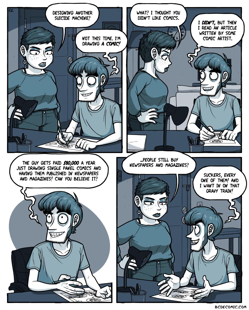 On Making Comics, Pt. 1