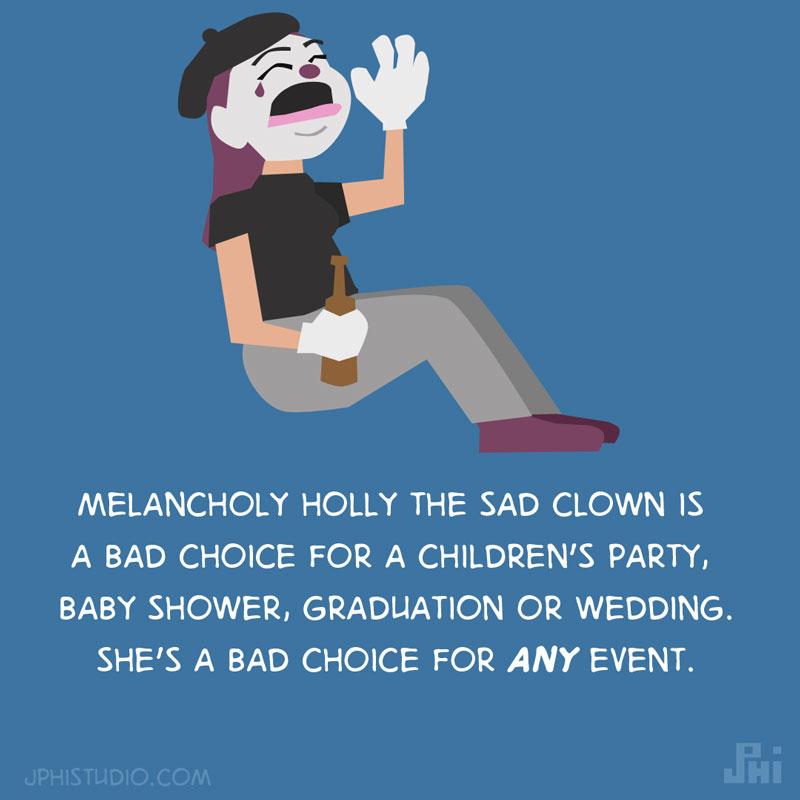 Melancholy Holly