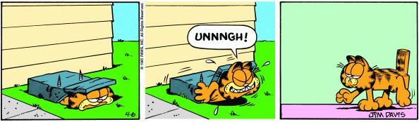 Garfield Minus Jon I Hate Mondays